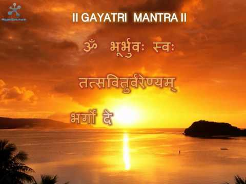 Gayatri mantra with full meaning in English & Hindi