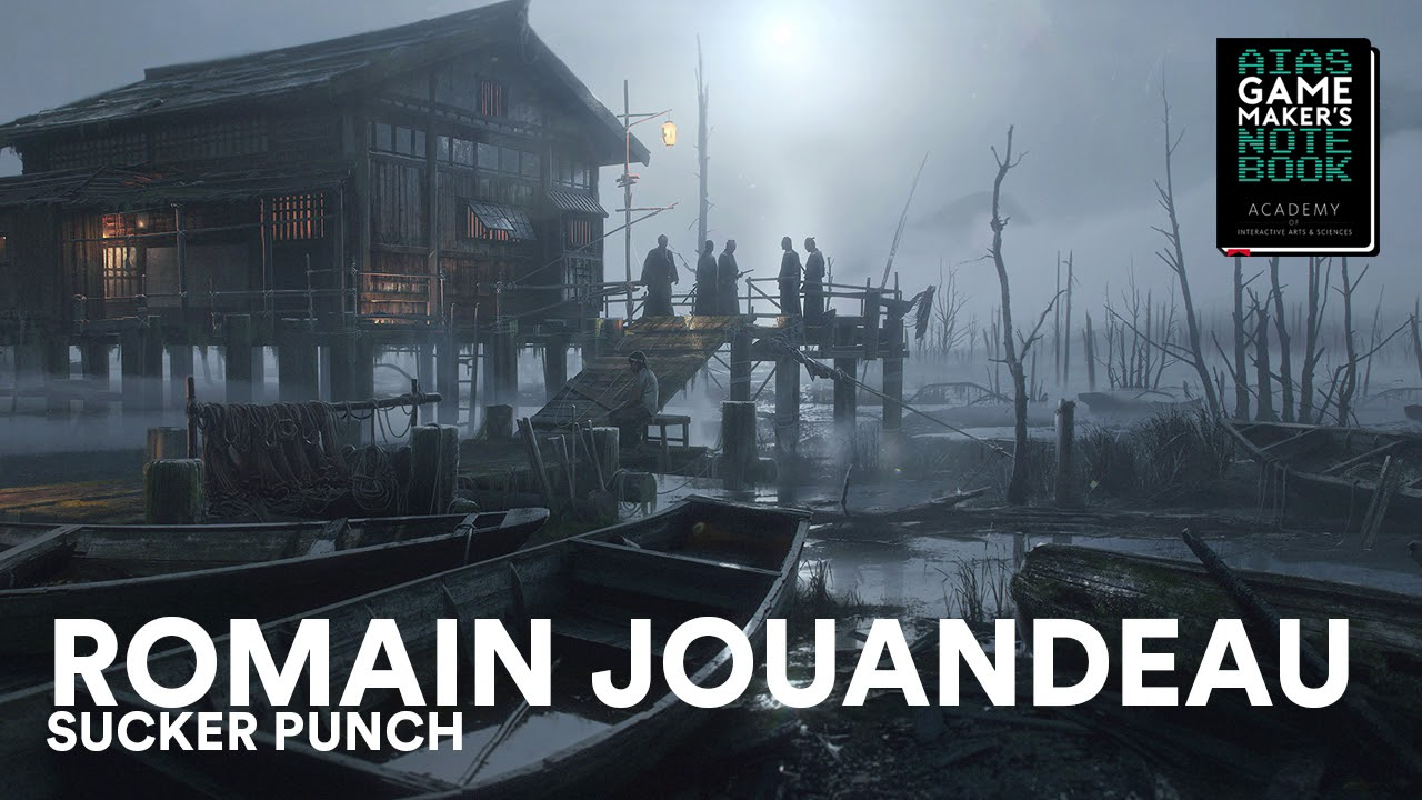 Download Ghost of Tsushima Artist Romain Jouandeau - The AIAS Game Maker's Notebook