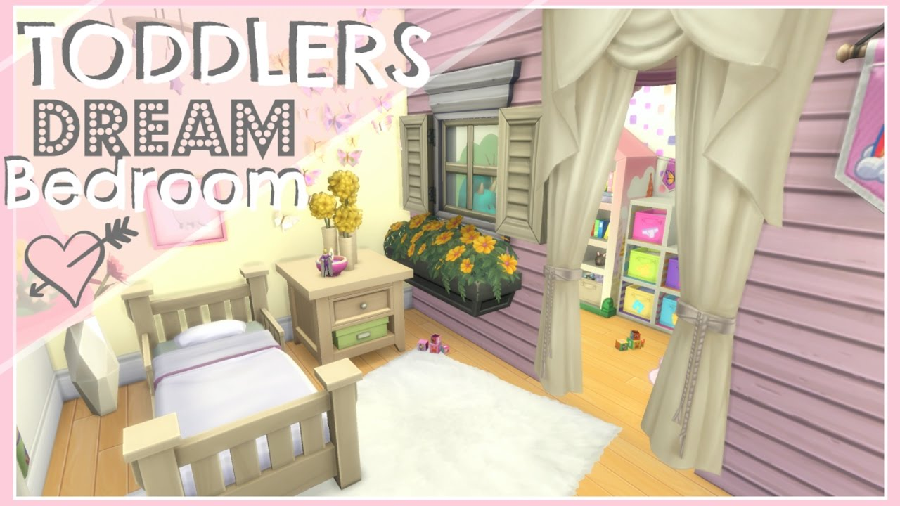 The Sims 4 // TODDLERS DREAM BEDROOM // SPEED BUILD   YouTube