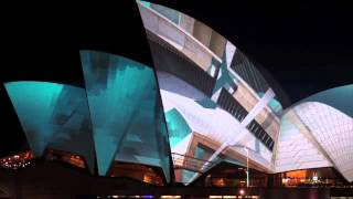 Vivid LIVE 2012: URBANSCREEN Light Sydney Opera House