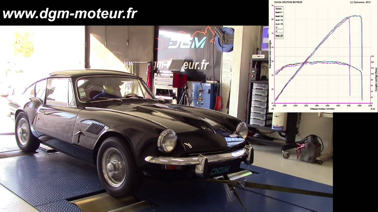 Triumph Gt6 Mk2 Dijon Gestion Moteur Youtube
