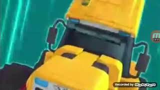 Tobot Pertarungan Melawan Buldozerbot