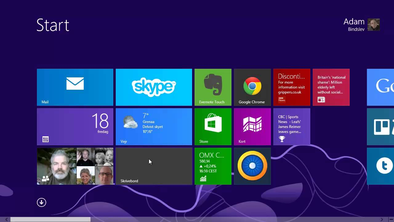 Sådan starter du computeren op på skrivebordet i Windows 8.1 - YouTube