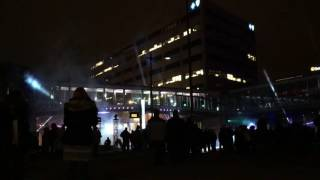 Christmas Laser Light Show at Union Station, Kansas City