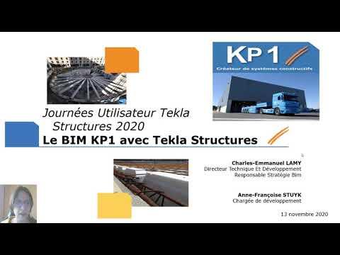 Kp1, utilisateur des solutions BIM Tekla, témoigne