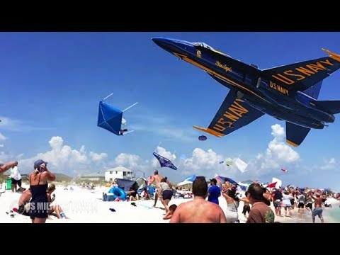Take a Look the Blue Angels Show Their Crazy Ability