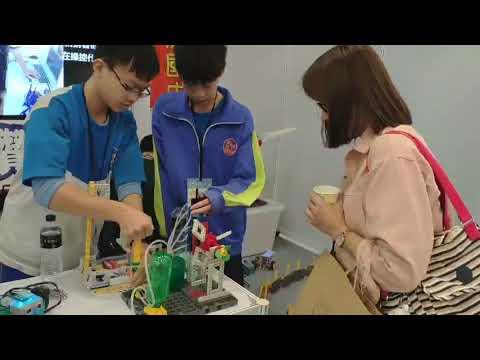 影/溪陽國中創新教學 第一屆教育科技特展獲得好評
