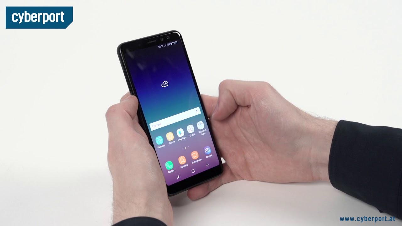 Samsung Galaxy A8 2018 Im Test I Cyberport Youtube