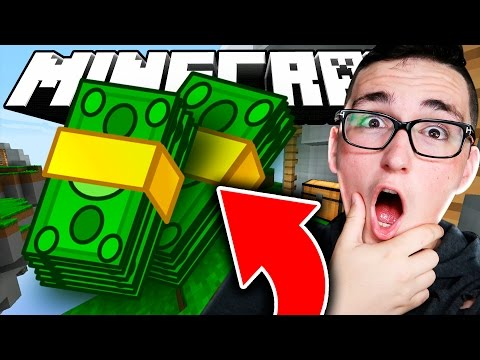 BETTING $100 IN MINECRAFT SKYWARS!!