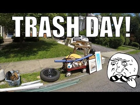 LOOK WHAT I FOUND IN THE TRASH! - Garbage Picking Ep. 65