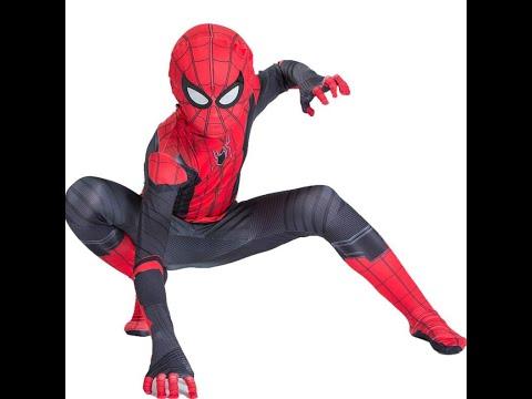 Карнавальный костюм Новый Человек паук Вдали от дома
