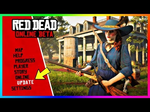 NEW Red Dead Online Update! - Release Date, Story Missions, Hostility System, NEW Weapons & MORE! thumbnail