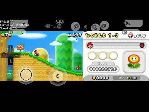 New Super Mario Bros 2 On Android Citra Emulator