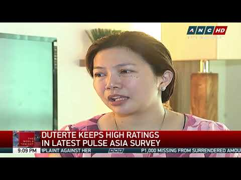 SWS, Pulse Asia differ in Duterte ratings