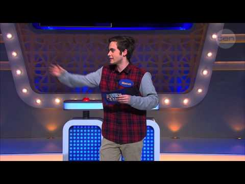 Marcus does the BEST Grant Denyer impersonation - Family Feud Australia