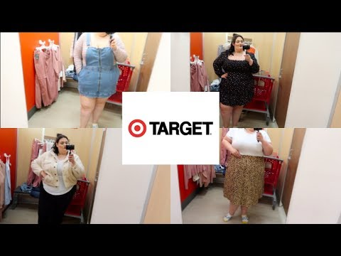 PLUS SIZE TARGET INSIDE THE DRESSING ROOM 2020!