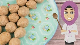 Kebbeh Dough كيفية إعداد عجينة الكبة السورية الأصلية