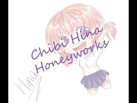 Drawing Hina from Honeyworks
