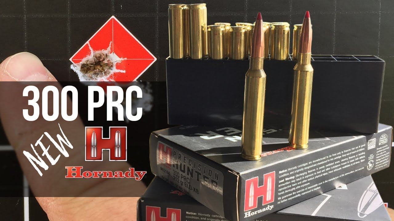 The New 300 PRC From Hornady - Ammunition Review! - Eastmans