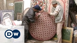 صناعة الفسيفساء في المغرب..حرفة عريقة تقاوم من أجل البقاء | الأخبار