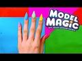 DIY Magic Model Clay nails !! | Really works !!!