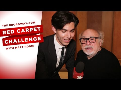 Red Carpet Challenge: THE PRICE with Danny DeVito, Mark Ruffalo, Tony Shalhoub & Jessica Hecht