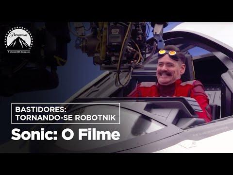 Sonic: O Filme   Bastidores: Tornando-se Robotnik   Paramount Brasil
