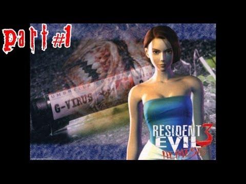 Resident Evil 3: Nemesis Прохождение (PS1 Rus) - Part #1