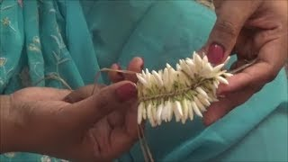 TIPS - How to tie flowers at home easily - Simple method!!