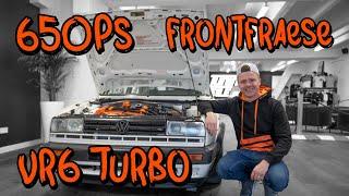 650PS Frontfräse von Marius - VW Golf 2 VR6 Turbo Folge 1   Philipp Kaess  