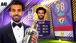 FIFA 18 POTY SALAH REVIEW | 98 POTY SALAH PLAYER REVIEW | FIFA 18 ULTIMATE TEAM