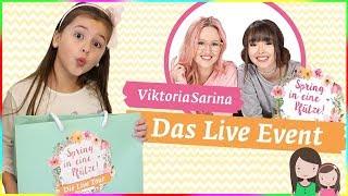 WIR auf der Viktoria Sarina Tour 😍 LIVE bei Spring in eine Pfütze 😋 Alles Ava