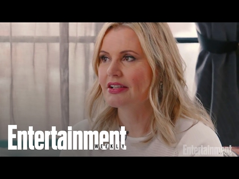 Geena Davis Laughs About The Thelma & Louise Scene She Filmed While Drunk! | Entertainment Weekly