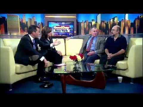 John McGinley and Richard Schiff on Glengarry Glen Ross