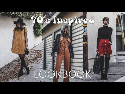 Fall Lookbook: 70's Inspired Outfits