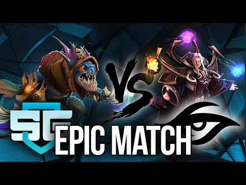 SECRET vs SG eSports (Brazil) - MOST EPIC GAME OF KIEV MAJOR DOTA 2 !!
