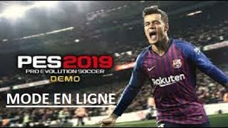 PES 2019|ON TEST EN LIGNE|ON DEBUTE L'ENTRAINEMENT