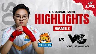 [ Highlights SN vs VG - GAME 3 ] SN ÔNG HOÀNG GAME 3 LẬT KÈO KHÔNG TƯỞNG - SOFM CƯỚP RỒNG ĐIÊN RỒ