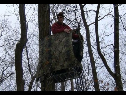 Tree Stand Shooting Rail And Stand Wrap Youtube