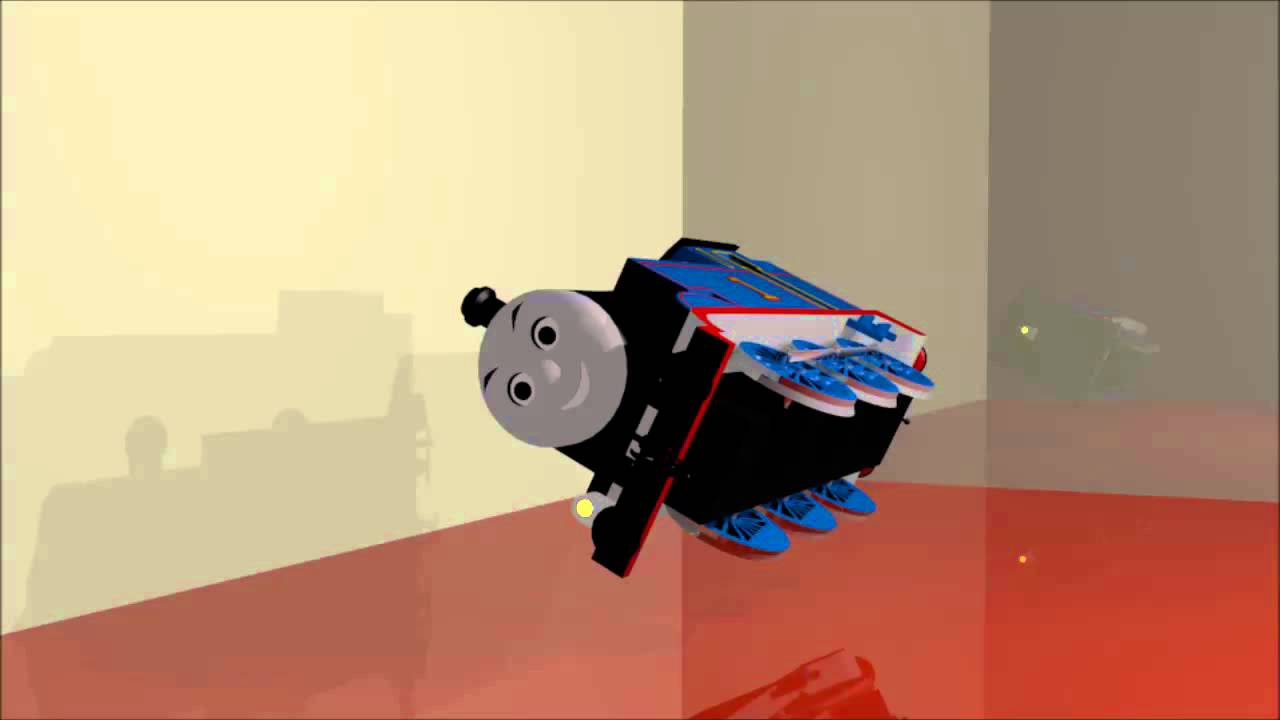 Free thomas the tank object 3d model from blender youtube for 3d search engine