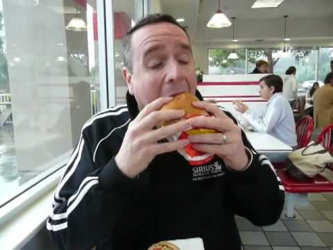 Fr. Dave at In-N-Out Burger