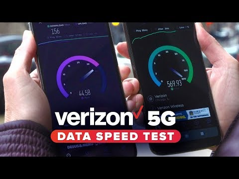 Verizon's new 5G data speed tests are off to a rocky start