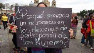 Nos tienen miedo Mujeres Guatemaltecas.wmv