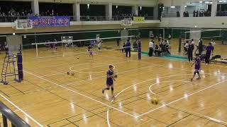 石川県中学校選抜バレーボール大会 男子 決勝 光野中学 対 兼六中学