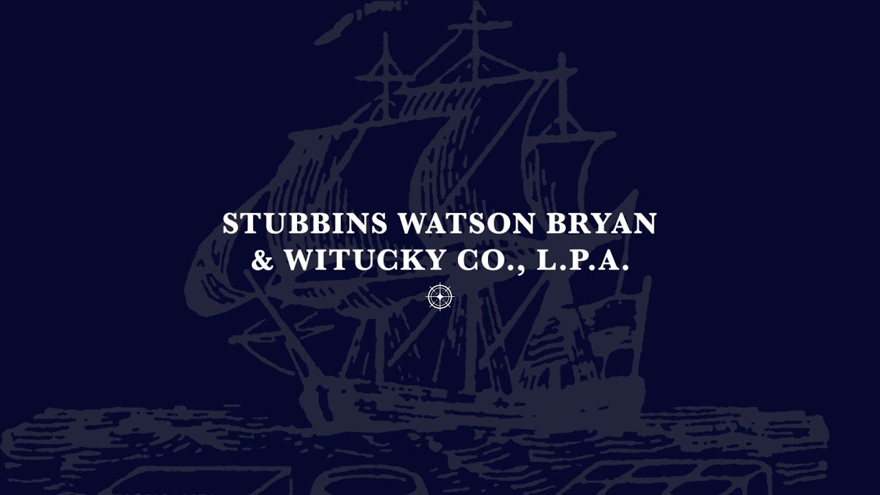 Oh Law Firm >> Home Page Stubbins Watson Bryan Witucky Co L P A