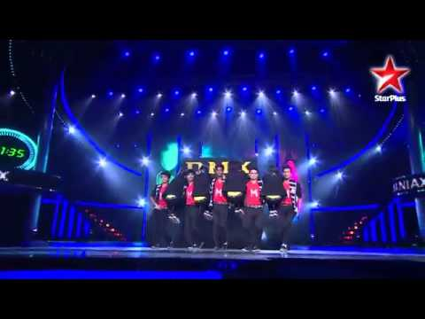 India's Dancing SuperStar-MJ5 and D Maniax's Group Act