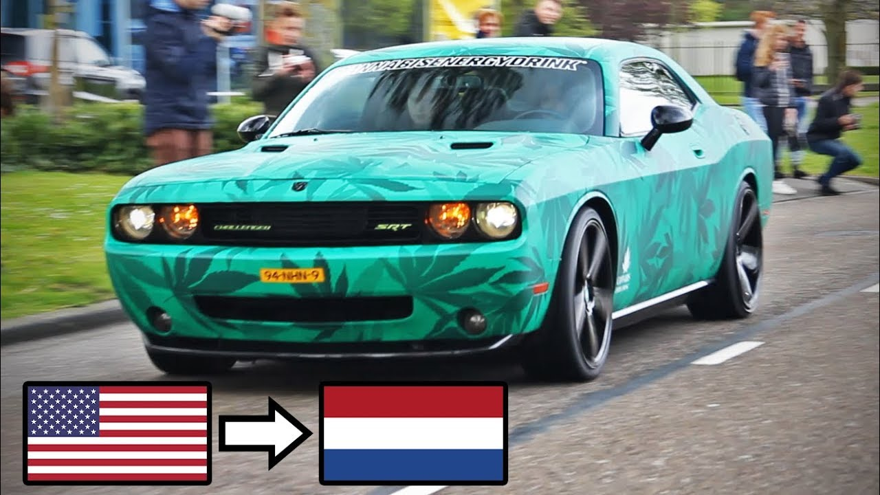 American Muscle Cars in Europe (The Netherlands, Belgium & Germany ...