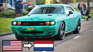 American Muscle Cars in Europe (The Netherlands, Belgium & Germany)