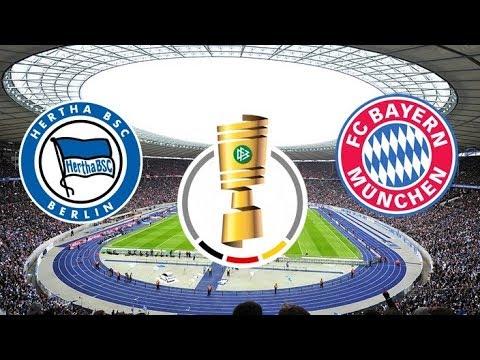 Hertha BSC Berlin Vs FC Bayern München ⚽ 06.02.2019 - DFB Pokal Achtelfinale | Prognose PES 2019