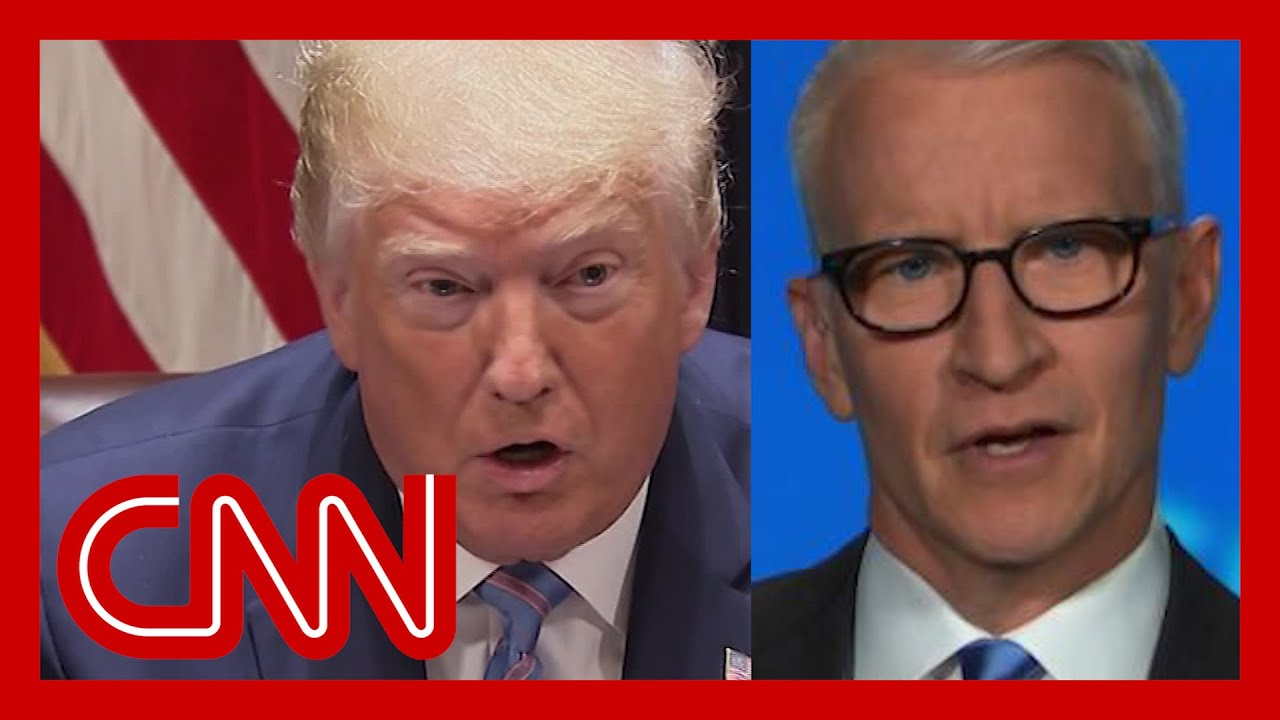 Cooper: Trump believes if you close your eyes, Covid goes away